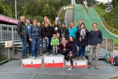 Aktivenausflug zur Skiflugschanze Oberstdorf