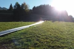 Jugendausflug zur Rodelbahn in Nesselwang