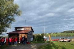 Überwachung Swimrun am Rottachsee