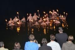 2013-7-14 0000 Gruppenbild des Fackelschwimmens im Rottachsee