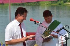 2013-7-14 1131 - Stephan Thomae als Lektor bei der Bootssegnung