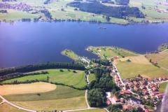 Rottachsee- Petersthal von oben