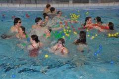 Training im Hallenbad