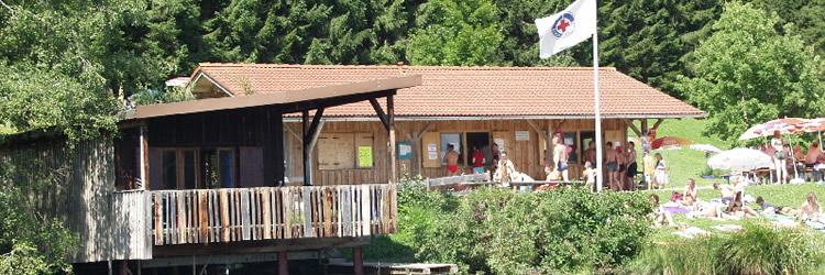 Wachstation Wasserwacht - Schwarzenberger Weiher